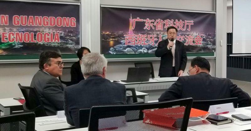 Participamos en el encuentro con una delegación de la provincia más próspera de China